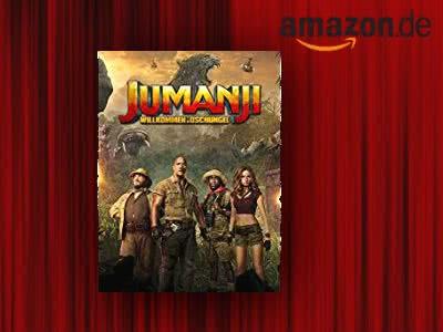"""""""Jumanji: Willkommen Im Dschungel"""" (HD) leihen für nur 1,99€"""