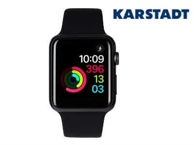 15%-Gutschein für Karstadt: z.B. Apple Watch Series 3 für 318,60€