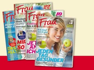 """4 Ausgaben """"Frau im Leben"""" kostenlos lesen"""