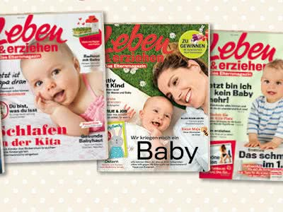 """Leben & erziehen"": jetzt 4x gratis lesen"