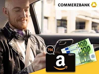 Kostenloses Girokonto der Commerzbank mit bis zu 275€ Prämie