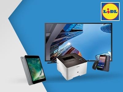 Multimedia zu Megapreisen: mit 10% Rabatt bei Lidl