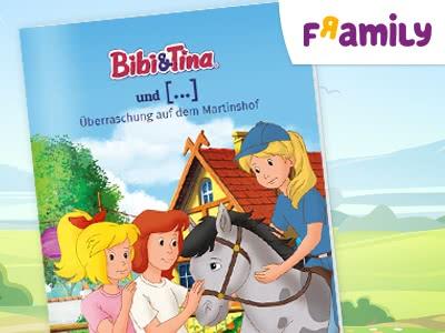 """Rein ins Märchen: personalisiertes """"Bibi & Tina""""-Buch versandkostenfrei bestellen"""