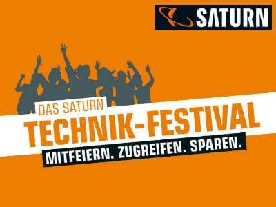 Technik-Festival bei Saturn: 10 Tage Feier-Preise!