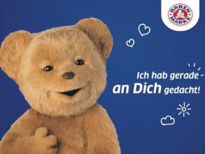 Freude schicken: Gratis-Postkarte von Bärenmarke versenden