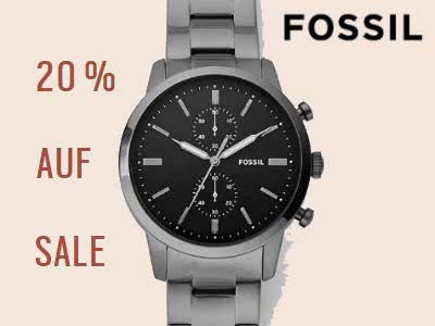 Tick Tack: 20% Rabatt auf Sale-Artikel bei Fossil
