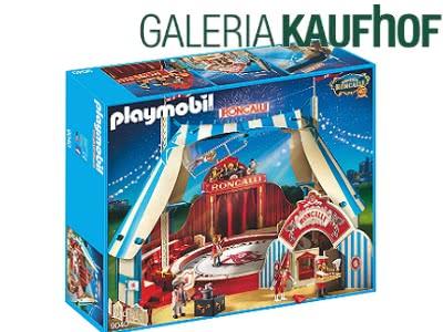 Manege frei mit dem Roncalli Zirkuszelt von Playmobil für 34,99€