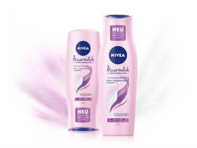 Glänzend: Nivea Haarmilch Pflegeshampoo gratis ausprobieren