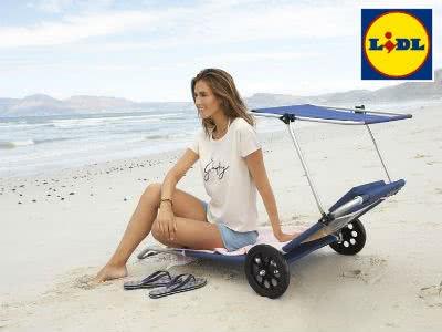 Strand- und Transportliege in einem: nur 9,99€ bei Lidl