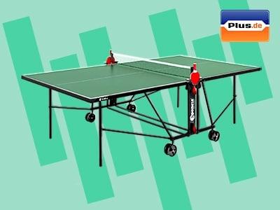 Gewinnspiel von Plus.de: Tischtennisplatte für Zuhause abstauben