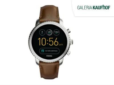 25% Rabatt auf Uhren und Schmuck: z.B. Fossil Smartwatch für nur 127,49€