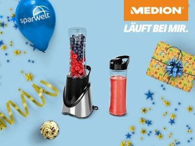 Für alle Genießer: Smoothie-to-go-maker für nur 14,95€ bei MEDION