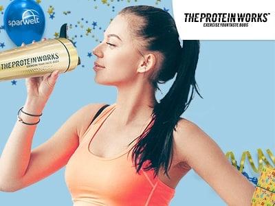 Knackige 40% Rabatt auf ausgewählte Produkte von The Protein Works