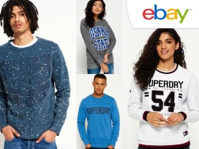 Lässiges Angebot: Superdry Sweathshirts für nur 25,95€