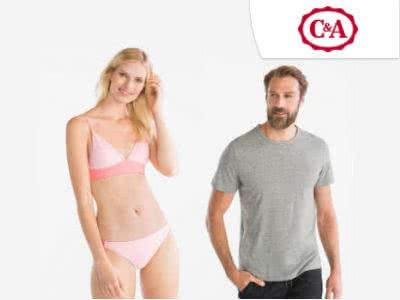 Best Deals bei C&A: T-Shirts ab 2€, Bikini-Hosen ab 2,50€
