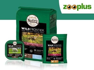 Neu im Sortiment: Premium-Trockenfutter von Nutro 5% günstiger bei Zooplus