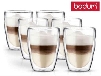 Heiß & kalt genießen: 6 Bodum-Gläser für nur 24,95€