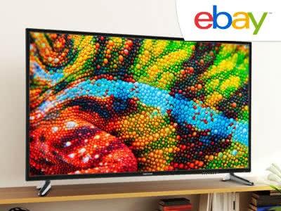 Große Ersparnis für riesigen TV: 55 Zoll für nur 329,99€