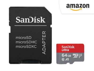 Nie wieder zu wenig Speicher: 64GB Speicherkarte für nur 13,99€
