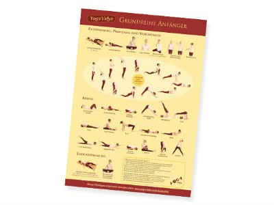 Fit in den Herbst: gratis Poster mit Yoga-Übungen