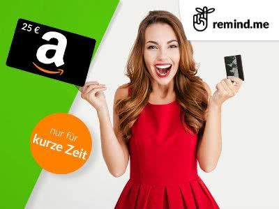 25€-Amazon.de-Gutschein für kostenlose Kreditanfrage bei remind.me