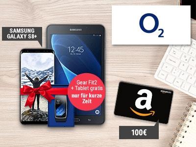 100€-Amazon-Gutschein + Gratis-Tablet + GearFit 2 kostenlos
