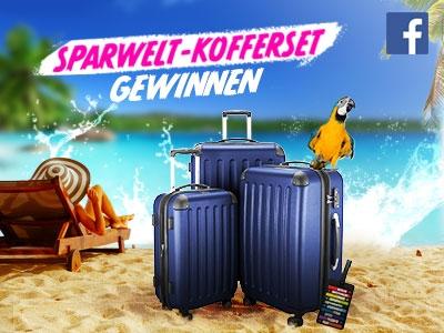 ★ Achtung❢ SPARWELT-Kofferset gewinnen ★
