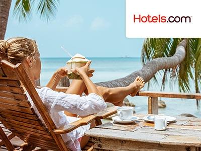 10%-Gutschein bei Hotels.com