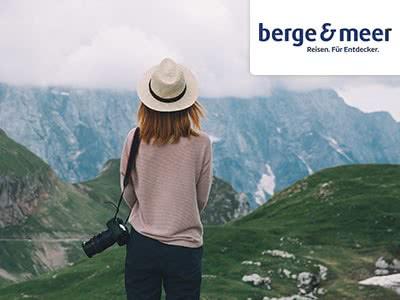 50€-Gutschein exklusiv bei Berge & Meer: Jetzt Urlaub buchen und sparen!