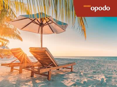 100€-Gutschein für Flug+Hotel bei Opodo