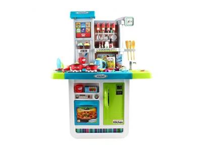 """deAO """"My Little Chef"""" Küchen Spielset mit Klängen, Touchscreen-Panel und Wasserspiele - Mehr als 40 Zubehör Enthalten"""