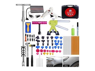 Ausbeulwerkzeug Super PDR 87-teilig Beulen Reparaturset Mit neuen T Lifter / Smile Puller / Dent Tabs / Gummi Hammer, etc