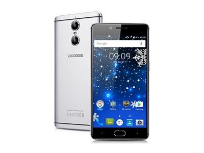 DOOGEE Shoot 1 5.5 zoll 4G Smartphone 13.0MP + 8.0MP Dual Rückseit-Kamera Android 6.0 Quad Core 1.5GHz 2GB RAM 16GB ROM Dual SIM Handy ohne Vertrag 3300mAh Batterie Quick Charge OTA GPS Gold