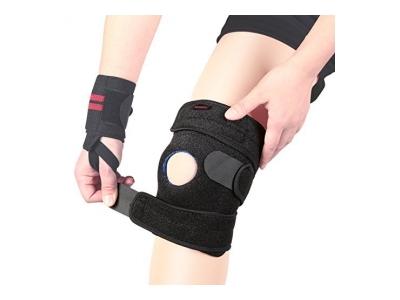 Youngdo Sport Kniebandage, atmungsaktiver und elastische Knieschoner mehr Sicherheit und Komfort beim Laufen und Joggen, verstellbare Knieschützer wirkt schmerzlindernd bei Gelenkkrankheiten wie Arthrose, geeignet für Kinder, Damen und Herren