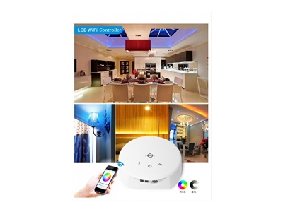XCSOURCE Magic UFO-WiFi LED-Controller DC12-24 V, LD382, weiß, 8 x 8 x 3 cm, 26-011-945