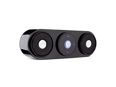 Bluetooth Lautsprecher, ZENBRE Z3 10W Portable Wireless Lautsprecher für 20 Stunden Musikgenuss, Computer Lautsprecher mit Dual-Treiber und verstärktem Bass Resonator(Silber)