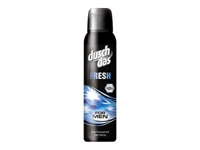 Duschdas For Men Deospray Fresh Anti-Transpirant, 6er Pack (6x 150 ml)