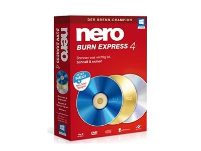 In Nero Burn Express 4 speichern