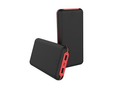 Powerbank Akkupack 20000mAh Externer AKku 2 USB Ports mit LED Statusanzeige für iPhone, Galaxy, Samsung, Tablette und andere elektonische Geräte