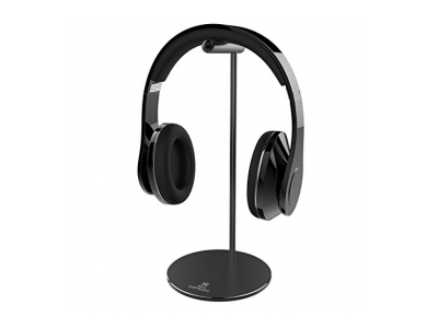 Kopfhörer Ständer, Lamicall Aluminium Kopfhörer Halter für Sennheiser, Beats, Koss, Sony, Philips, Bose und adhere Kopfhörer - Schwarz