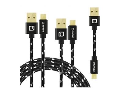 Type C Kabel Micro USB Kabel AUAUA Ladekabel für MacBook, OnePlus 2, Nexus 5X, Nexus 6P, ChromeBook Pixel, Nokia N1 Tablet und weitere