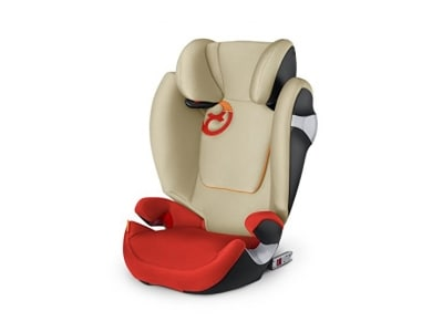 Cybex Gold Solution M-fix, Autositz Gruppe 2/3 (15-36 kg), Kollektion 2017, autumn gold, mit Isofix