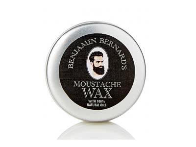 Bartwachs für starken und langen Halt - natürliches Wachs, Jojobaöl, Avocadoöl - einfache Anwendung und frischer Duft - 25 ml
