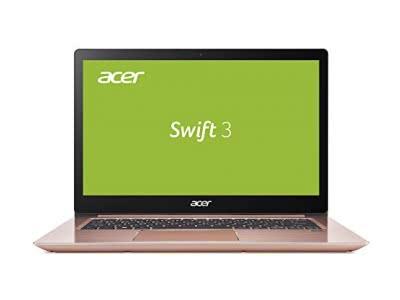 Acer Swift 3 SF314-52-30LH 35,6 cm (14 Zoll Full-HD) Ultrabook (Intel Core i3-7100U, 4GB RAM, 128GB SSD, Intel HD, Win 10) rosa