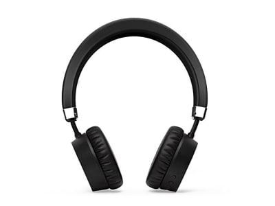 Bluetooth Kopfhörer,Meidong E6ANC Active Noise Cancelling Bluetooth Kopfhörer on Ear Wireless Headphones mit Mikrofon -- Schwarz.