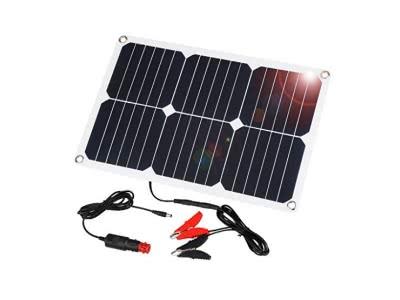 Suaoki Solar Panel 18W 18V Ladegerät Solarzelle Solarladegerät für Auto Boot RV Traktor Motorrad Automobil 12V Batterien