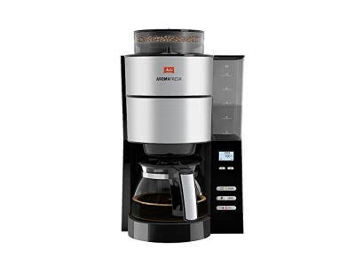 Melitta, Filterkaffeemaschine mit integriertem Mahlwerk, AromaFr