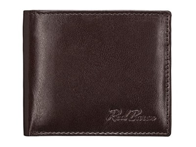 Red Baron Geldbeutel Portemonnaie aus echtem Leder RB-WT-008-04