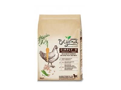 Purina Beyond Simply 9 Hundetrockenfutter, Natürliche Zutaten, 2er Pack (2 x 3kg Beutel)