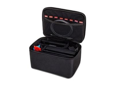 Nintendo Switch Tasche HOPETO Groß Hülle Case Transporttasche Schutztasche Aufbewahrungstasche f ür die Nintendo Switch Zubehör und Konsole